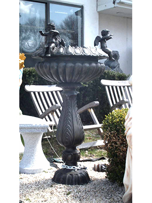 Bronze Fountain with Angels
