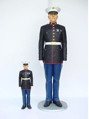 """ Marine at Attention "" 7ft"