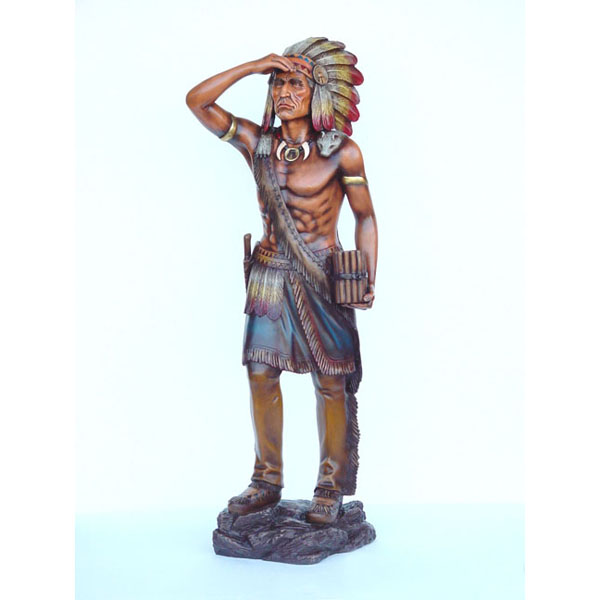 Cigar Store Tobacco Indian 4 ft