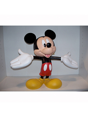 Mickey Mouse with Arms wide